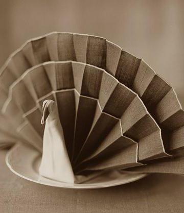 способы складывания бумажных салфеток для сервировки стола