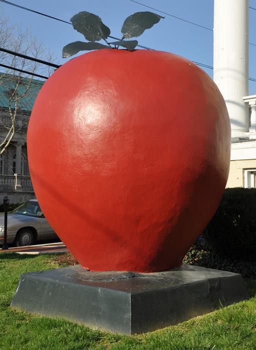 гигантские яблоки