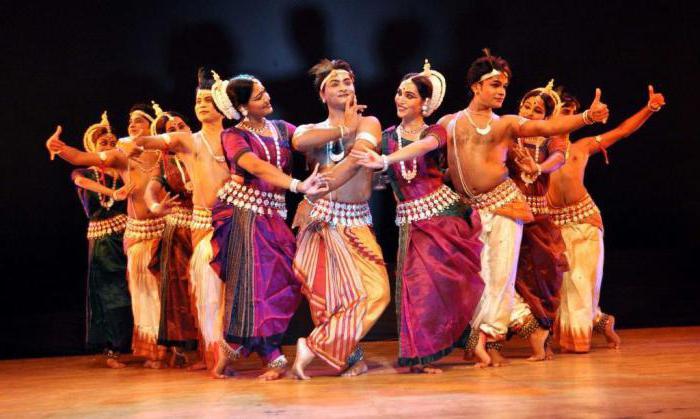 песни и танцы индии