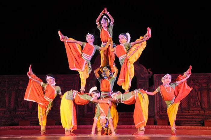 танцы древней индии