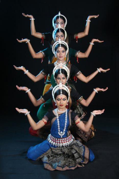 классические танцы индии