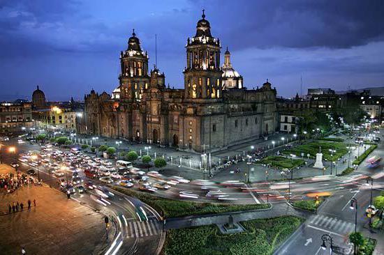 экономико географическое положение мексики