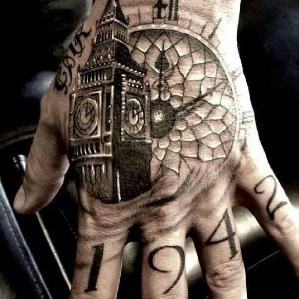 Татуировки на левой руке: расположение и значение