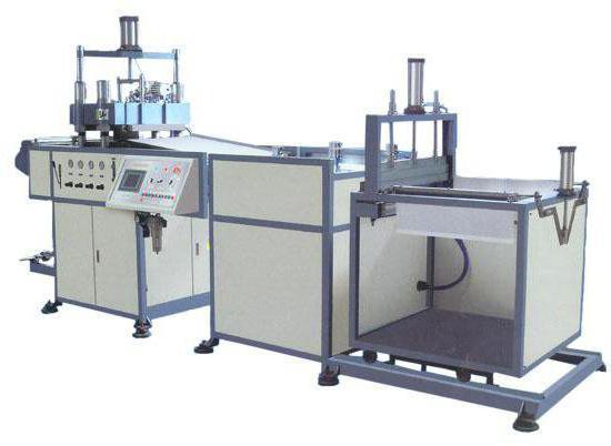 оборудование для производства пластмассовых изделий