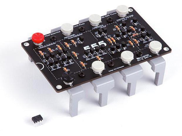 Микросхема 555 применение