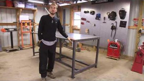 Как сделать сварочный стол своими руками