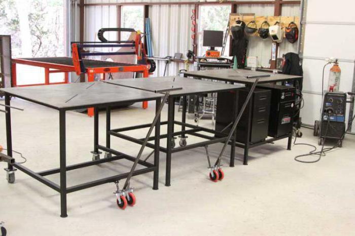 Металлический сварочный стол 105