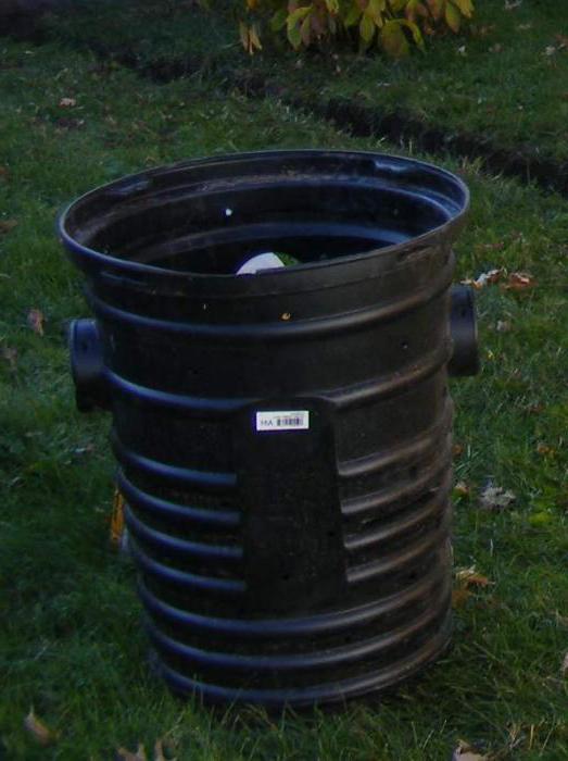Обустройство канализационного колодца