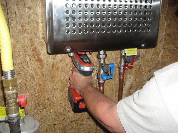 Проточный электрический водонагреватель своими руками