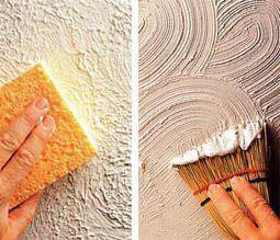 декоративная штукатурка из обычной шпаклевки своими руками
