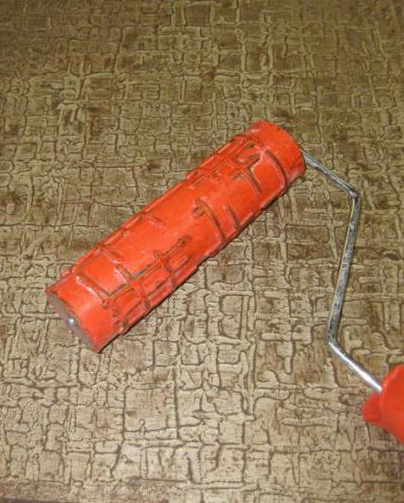 декоративная штукатурка из обычной шпаклевки валиком