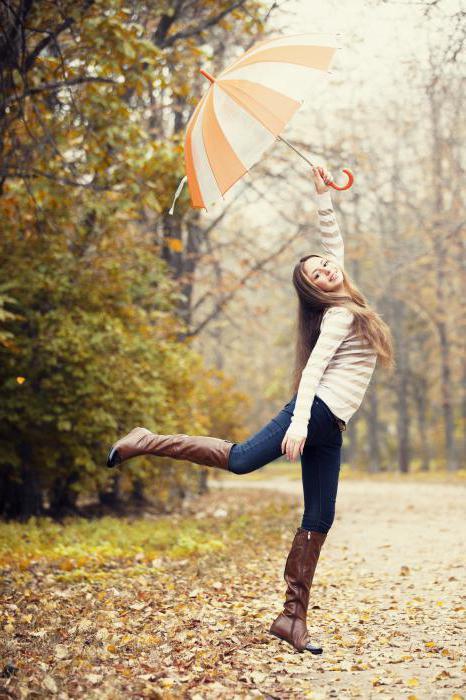 Осенняя фотосессия в парке: идеи, позы