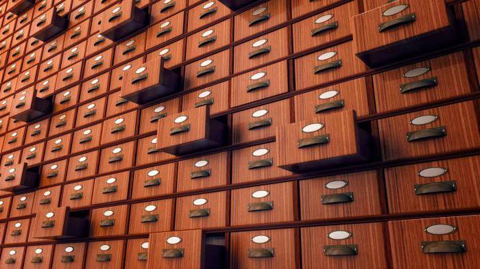 система архивное дело