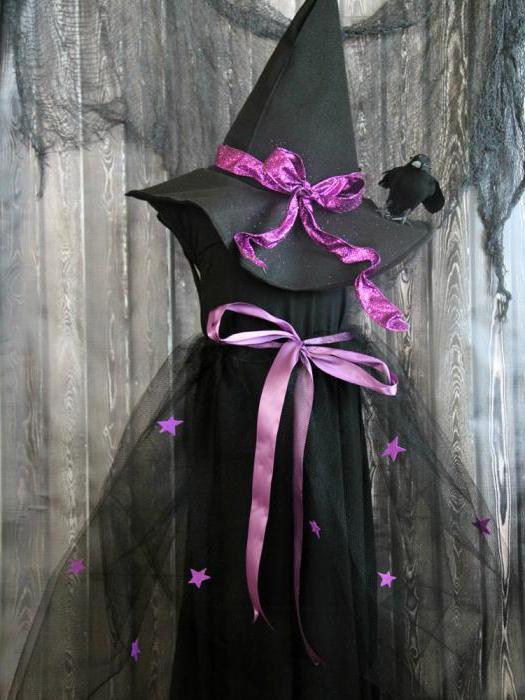 аксессуары для костюма ведьмы