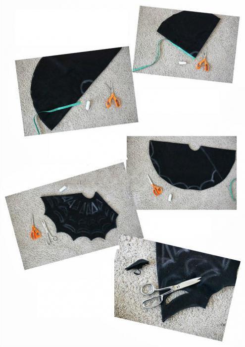 сделать костюм ведьмы на хэллоуин своими руками
