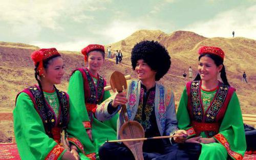тюркская группа языков народы