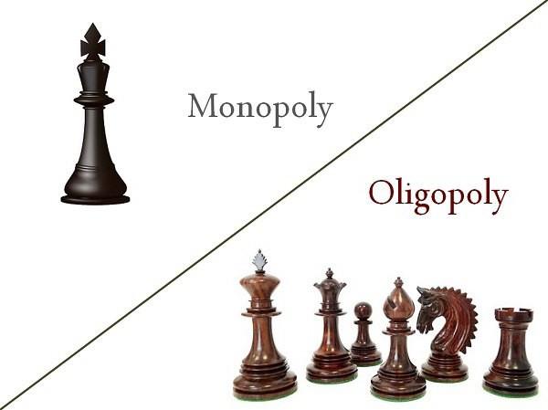 место олигополии в современной экономике