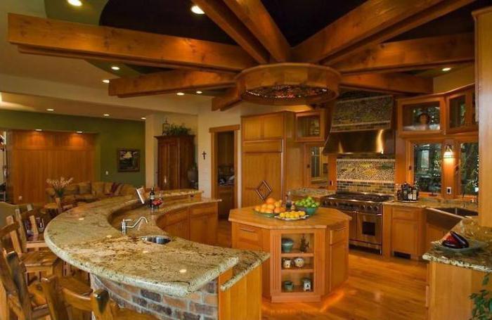 кухни в деревянном доме