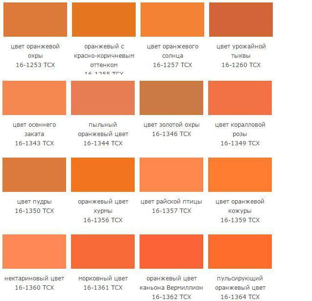 Персиковый цвет по английски