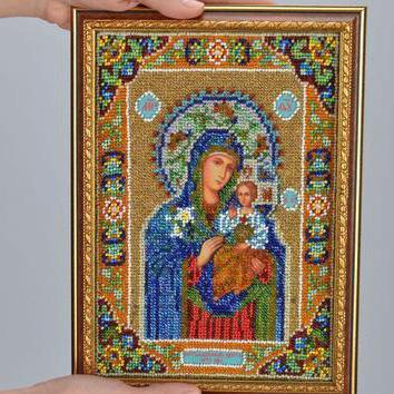 иконы бисером схемы для вышивания