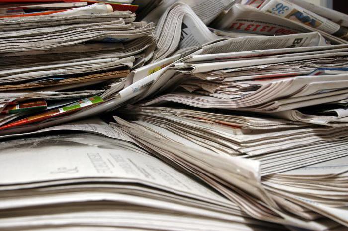 что можно сделать из газеты