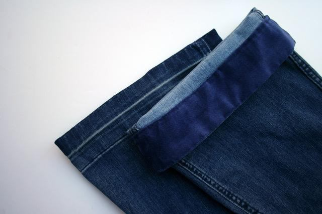 Как удлинить джинсы - взрослые и детские