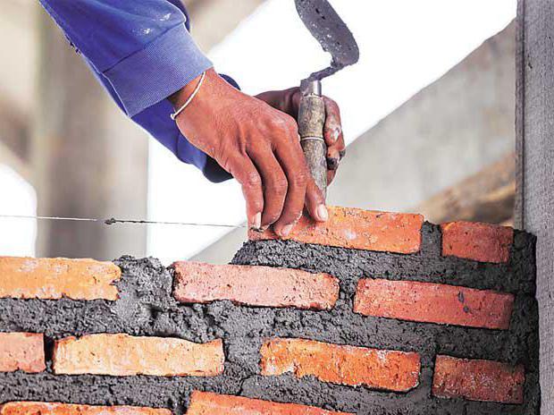 Расход цементного раствора на 1 м3 кладки