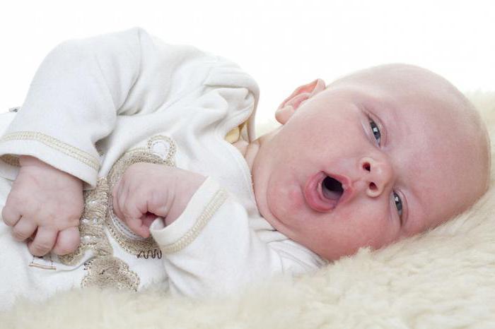 мозоль на губе у новорожденного при искусственном вскармливании