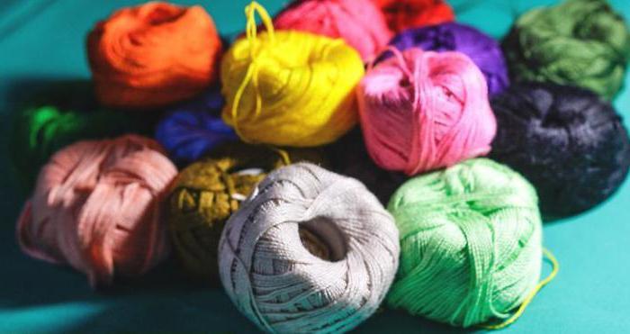 как сделать петельку из ниток на полотенце