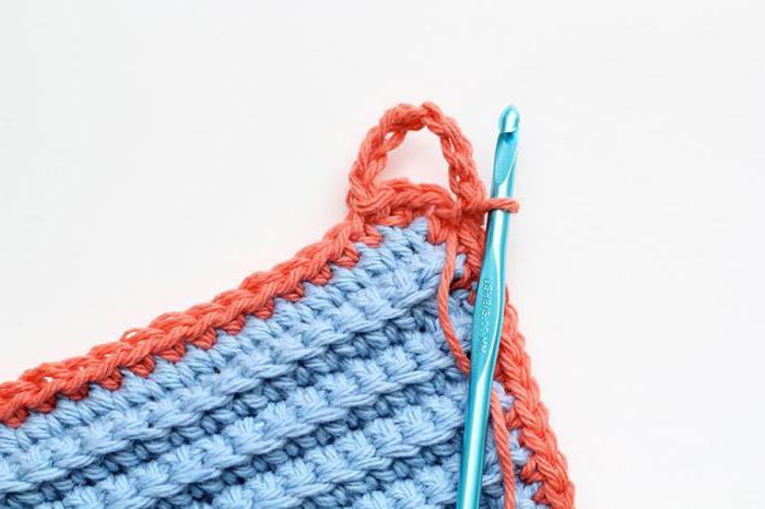 как сделать петельку для одежды из нитки