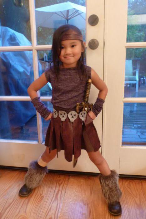 костюм амазонки для девочки