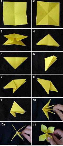 оригами подарок для мамы