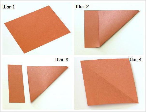 оригами из бумаги для мамы