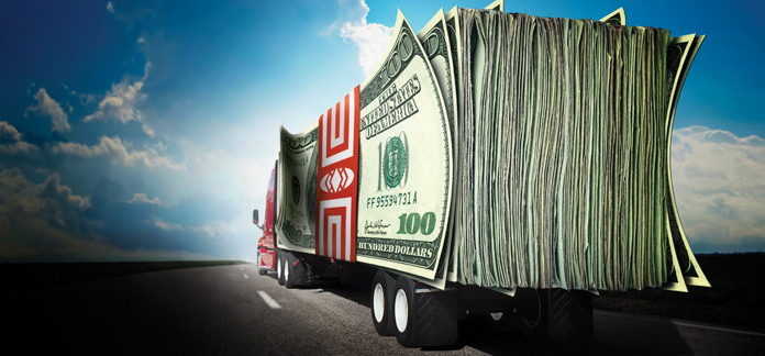 Forwarding driver salary