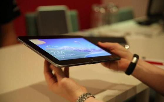 Замена экрана и тачскрина сенсорного стекла планшета