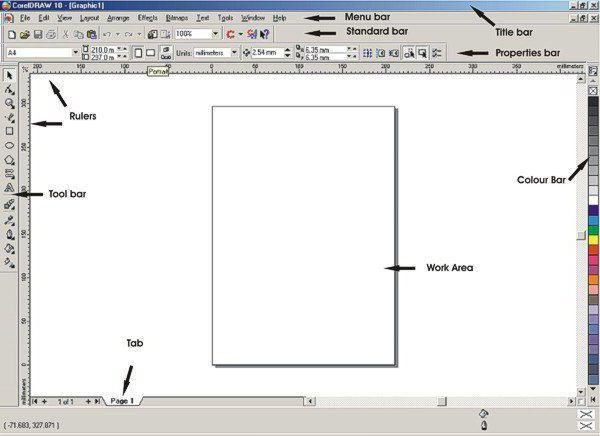 Программа CorelDraw для работы с векторной графикой