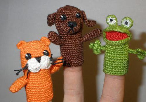 пальчиковые куклы крючком