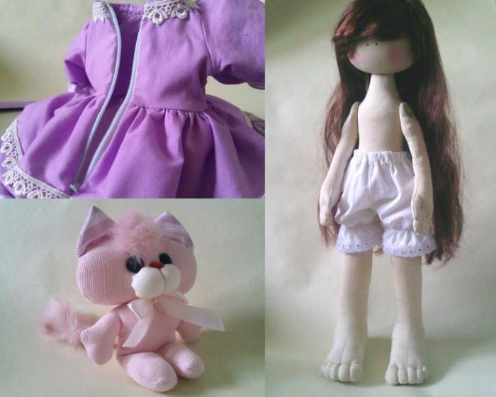одежда для куклы большеножки