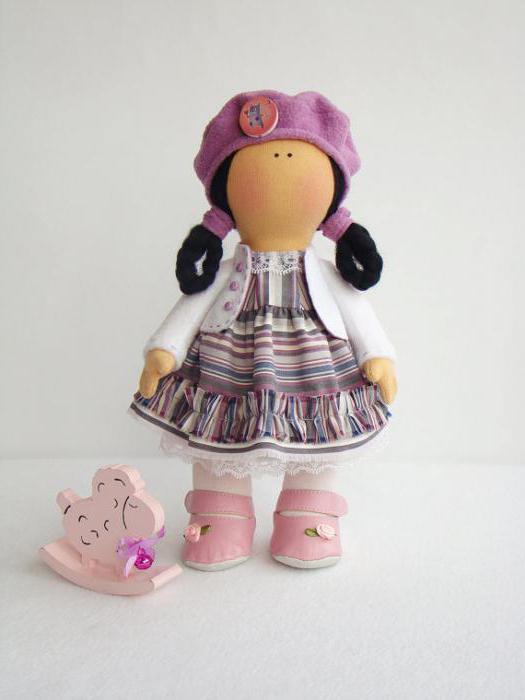 кукла тильда большеножка