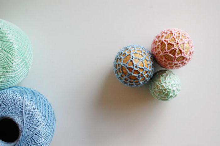пасхальные яйца крючком схемы