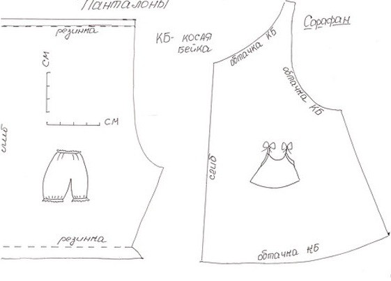 одежда для беби бона девочки выкройки