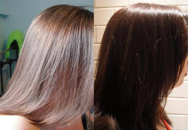 тонирование волос отзывы