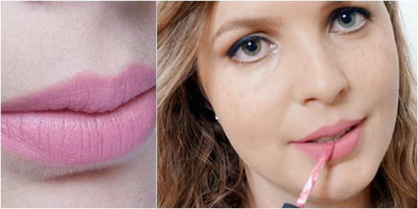 белорусский матовый блеск для губ