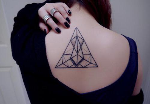 значение тату геометрия