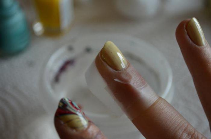 чем мажут вокруг ногтя при маникюре омбре