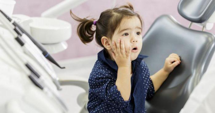 периодонтит молочного зуба лечение