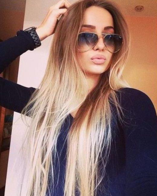 Амбре на волосах длинных: описание, как смотрится и отзывы