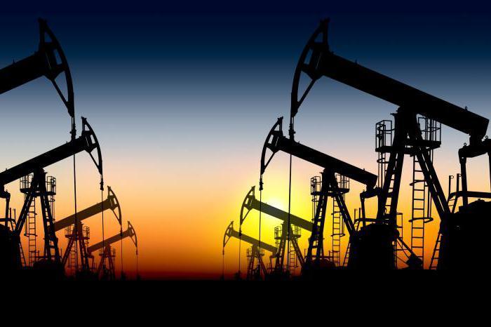 Марки нефти
