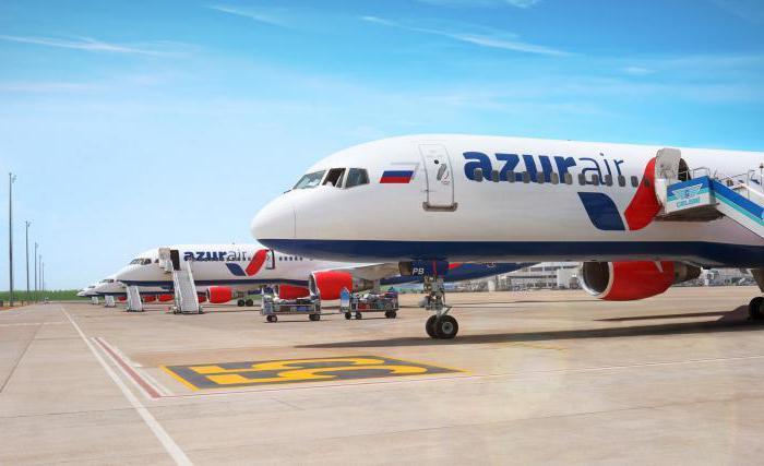 Авиакомпании работающие в Международном аэропорту