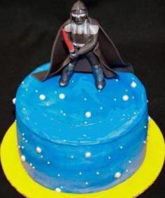 торт в стиле звездных войн